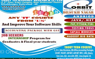 Orbit In Dilsukh Nagar Hyderabad 500060 Sulekha Hyderabad