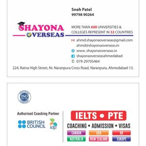 Shayona Overseas in Naranpura, Ahmedabad-380013 | Sulekha