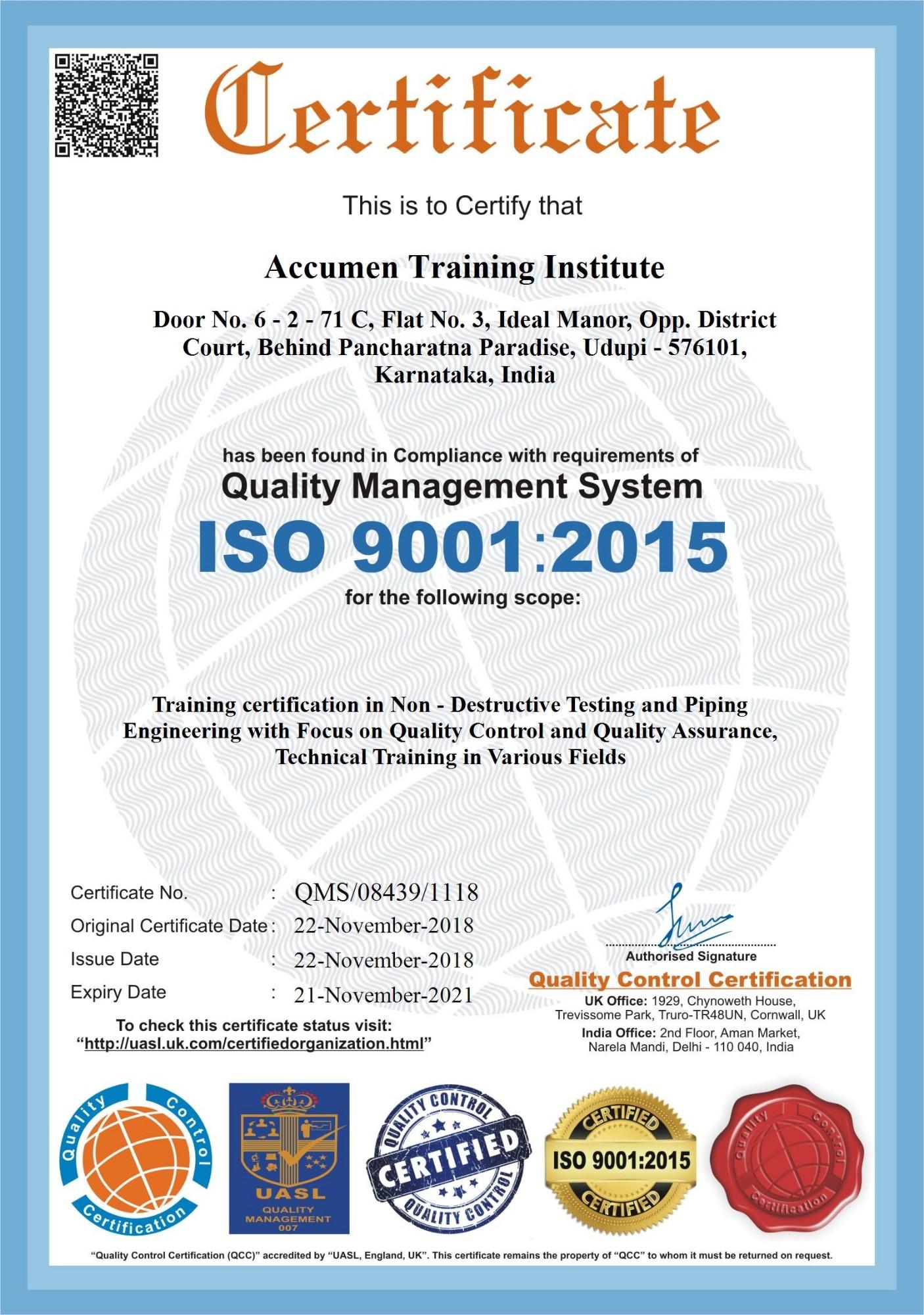 Accumen Training Institute in Hampankatta, Mangalore-575001