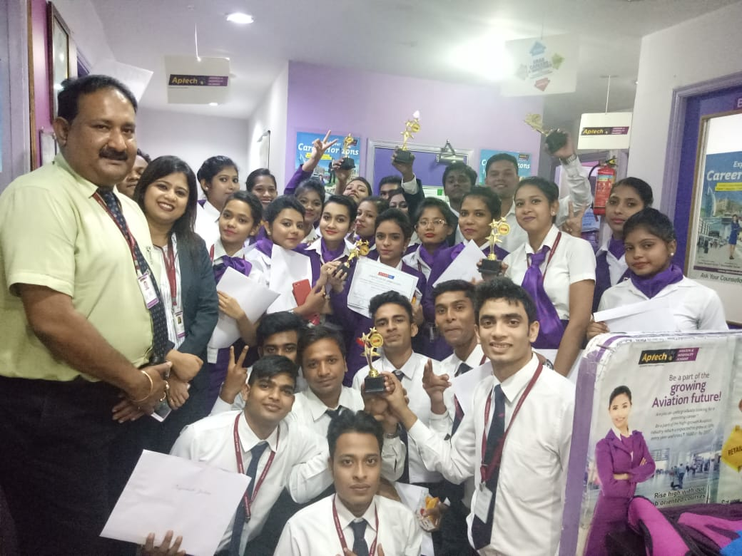 Aptech Aviation & Hospitality Academy in Kankurgachi