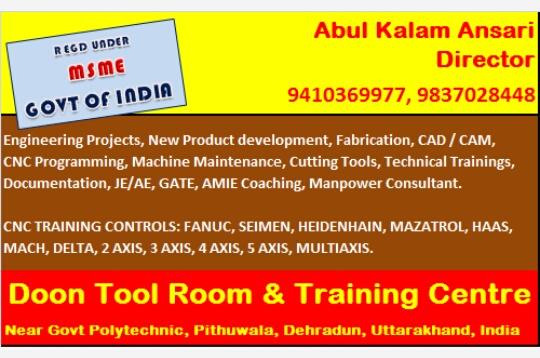 CNC PROGRAMMING in Pithuwala Kalan, Dehradun-248001
