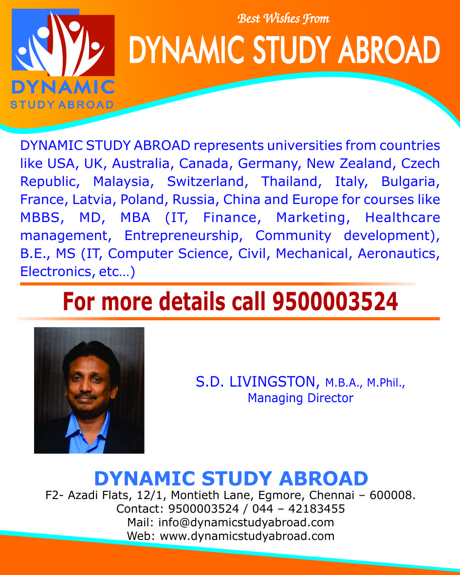 Top 10 Study MBBS Abroad Consultants in Chennai, Overseas
