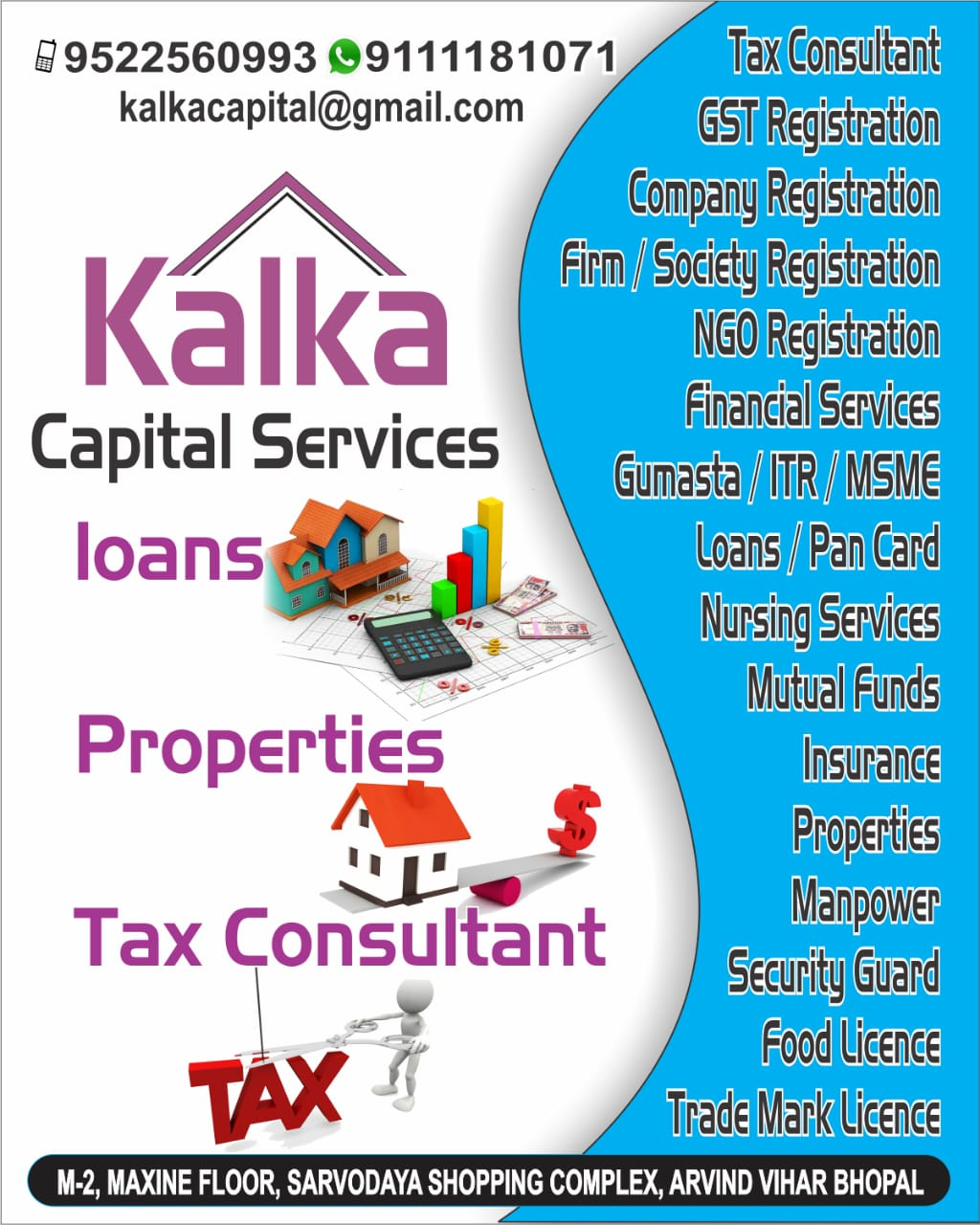 Placement Consultants in Ashoka Garden, Bhopal, Manpower Consultancy
