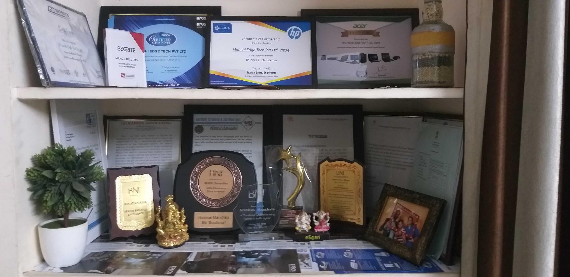 Manshi Edge Tech Pvt  Ltd  in Railway New Colony, Visakhapatnam