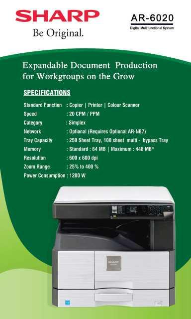 Sharp Photocopier Repair, Photocopying Services   Sulekha