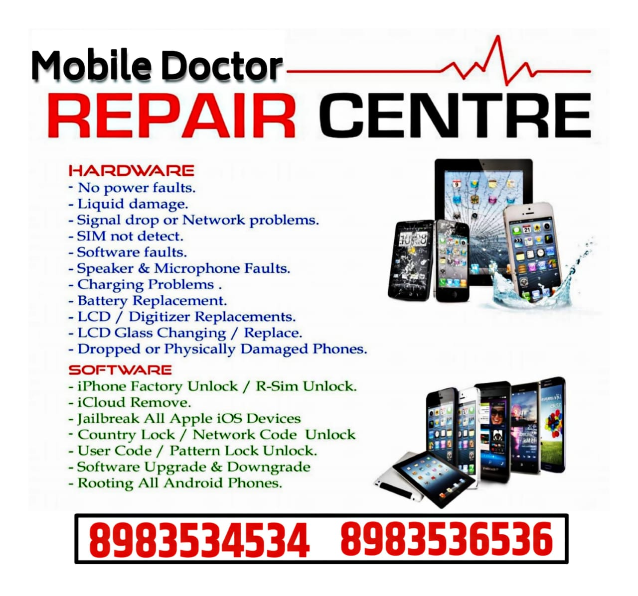 Mobile Doctor Repair Centre in Viman Nagar, Pune-411014
