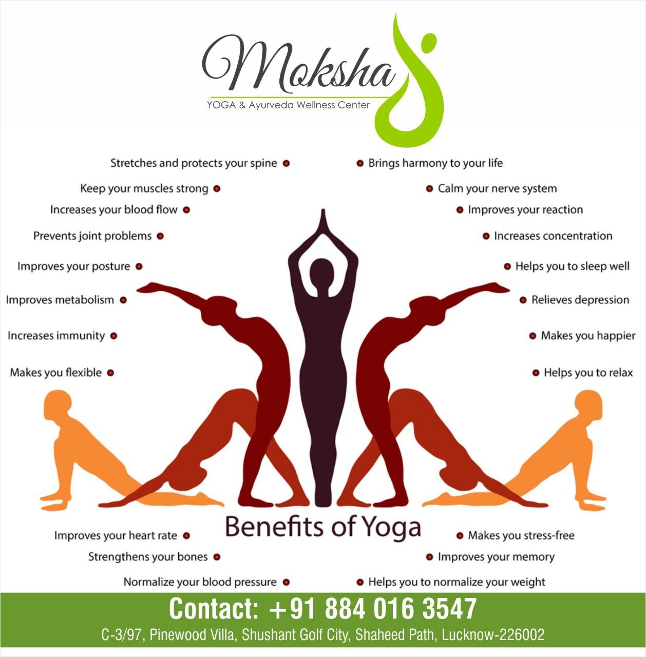 Moksha Yoga & Ayurveda Wellness Center in Devariya, Lucknow