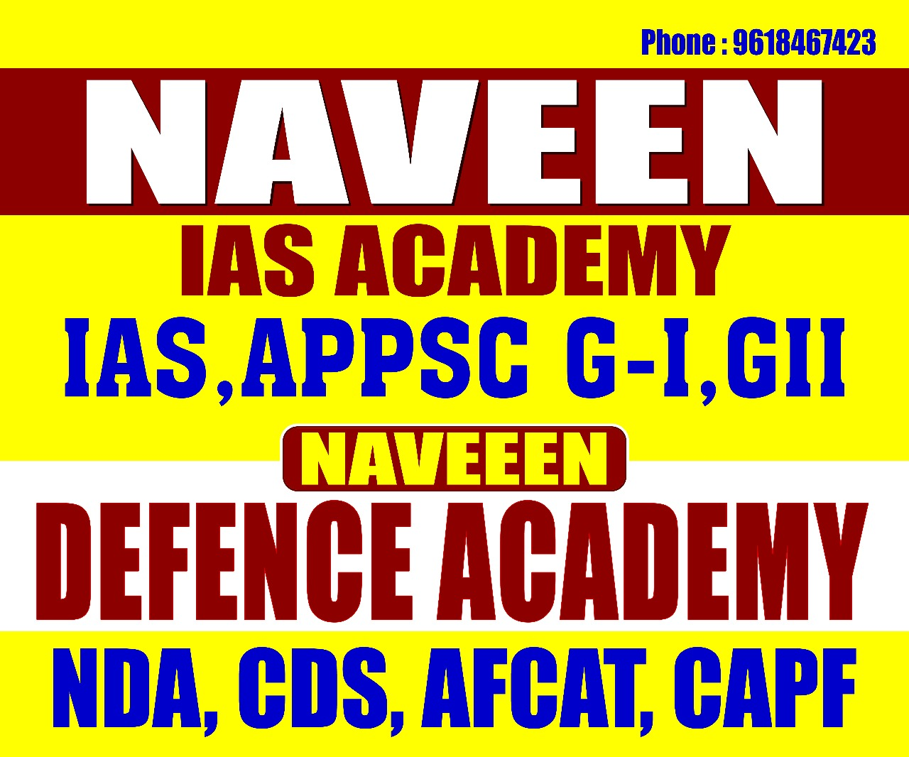 Defence Exams Coaching Classes in Visakhapatnam, Police Exam