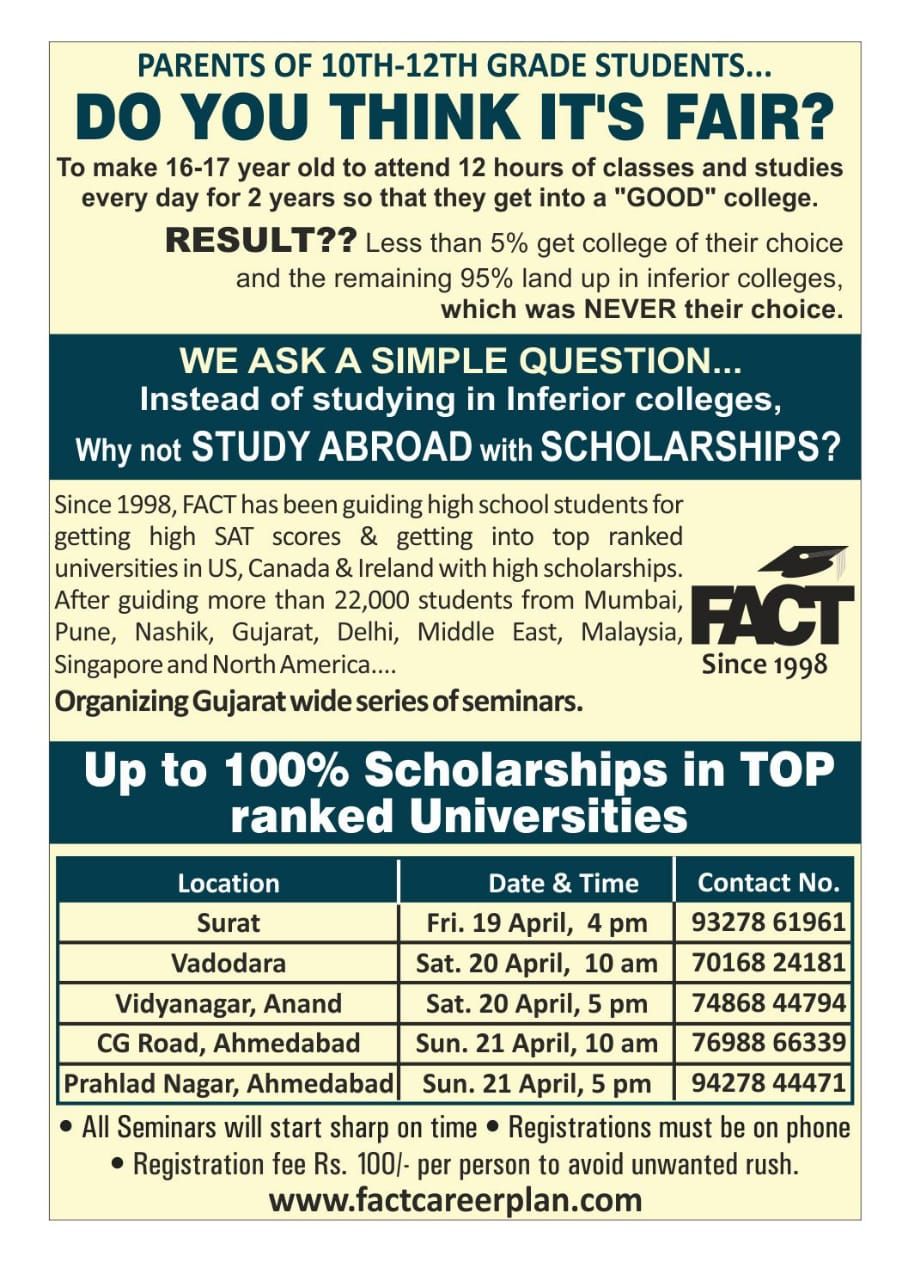 Top 10 GRE Coaching in Ahmedabad, Classes, Training Centres