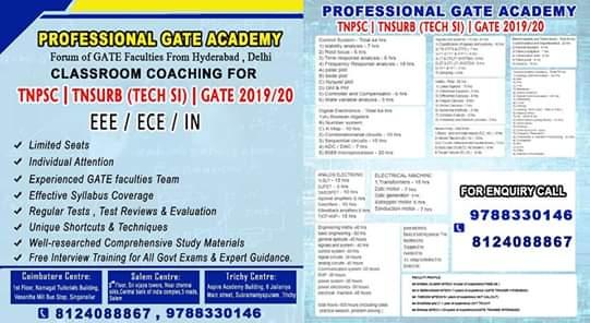Top 10 GATE Coaching Classes in Coimbatore, Training