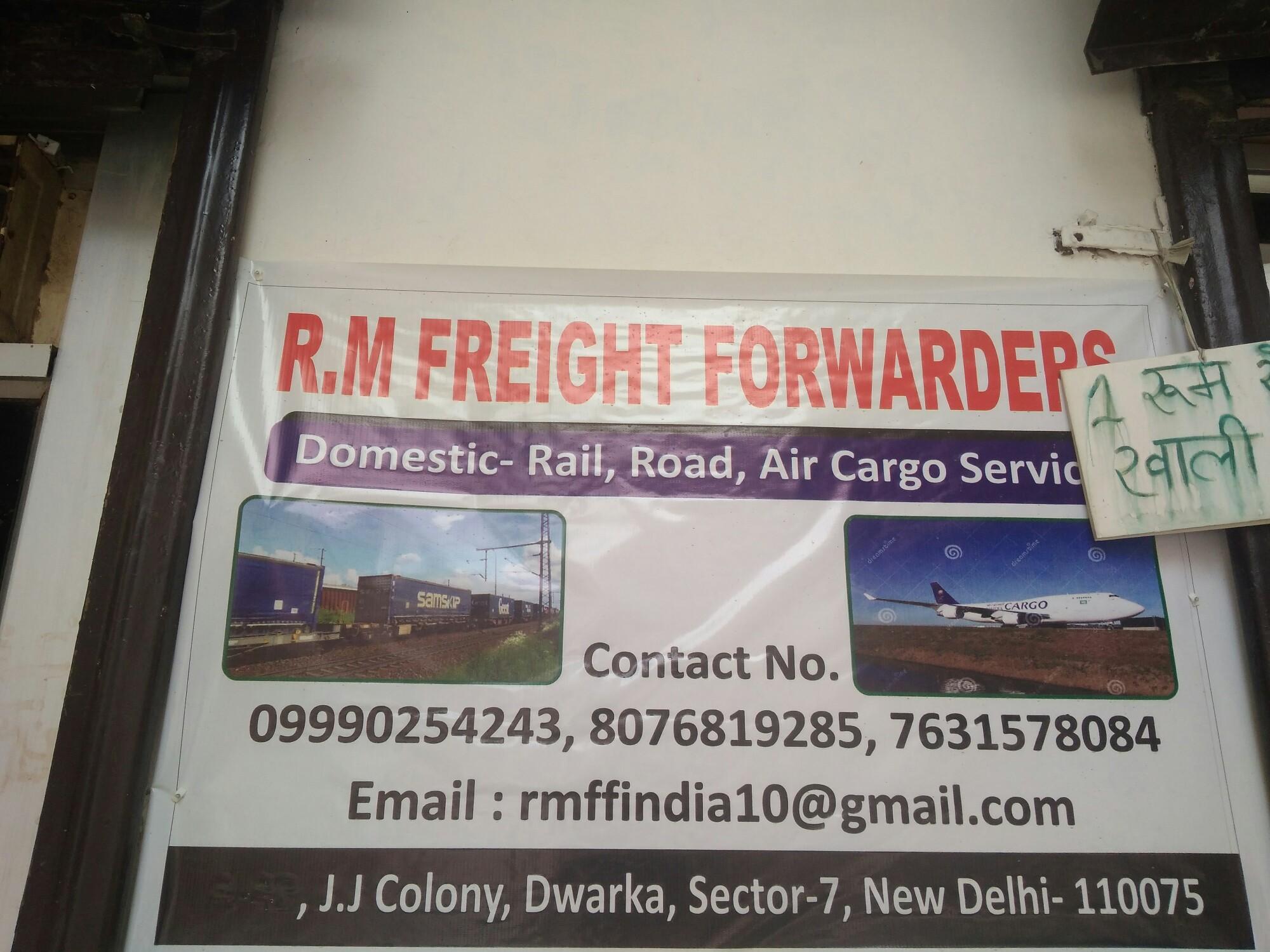R  M  Freight Forwarders in Dwarka, Delhi-110075 | Sulekha Delhi