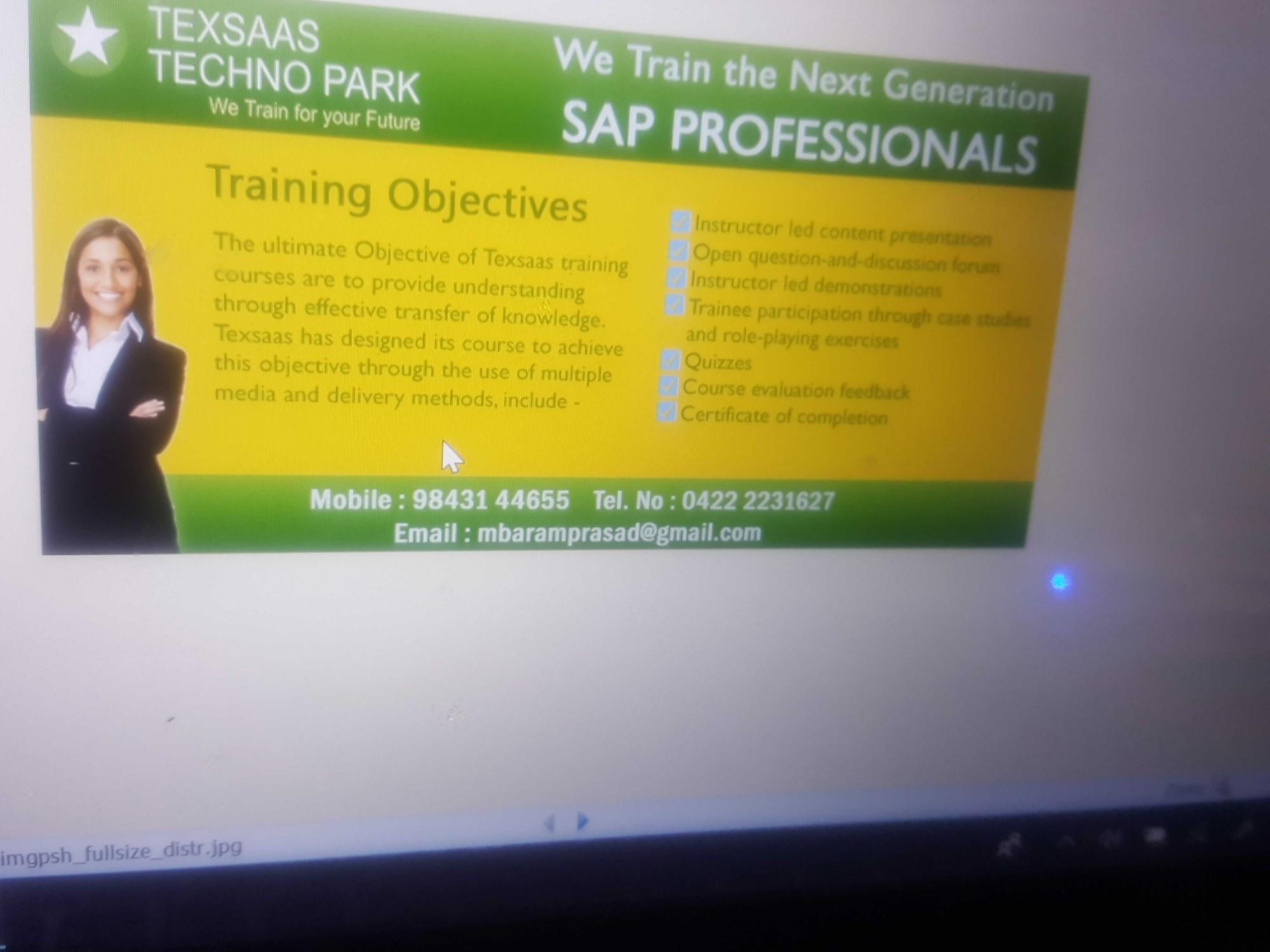 SAP S/4HANA Training in Coimbatore, SAP S/4HANA Course in