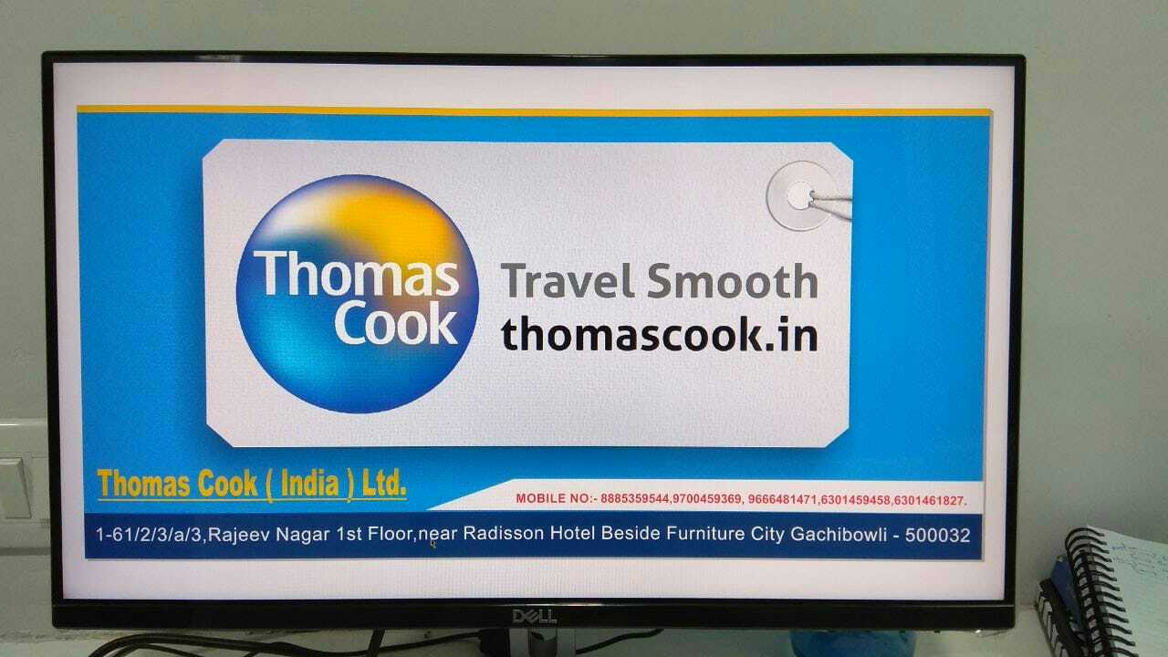 Thomas Cook India Ltd at Gachibolli in Gachibowli, Hyderabad-500032