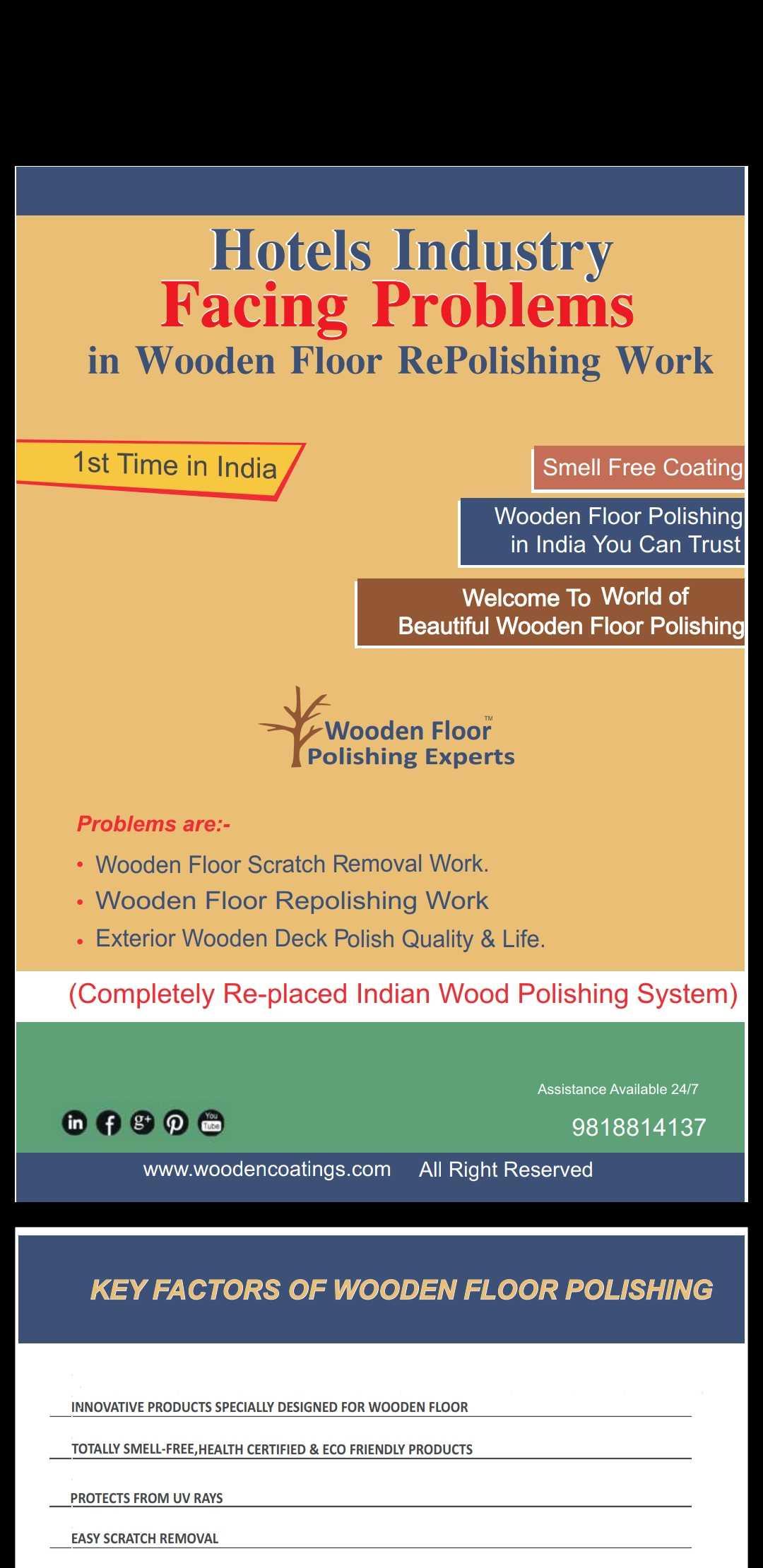 The Wood Floor Polishing Experts In Tughlakabad Delhi 110019