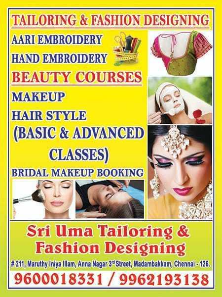 Sri Uma Tailoring Fashion Designing In Madambakkam Chennai 600126 Sulekha Chennai