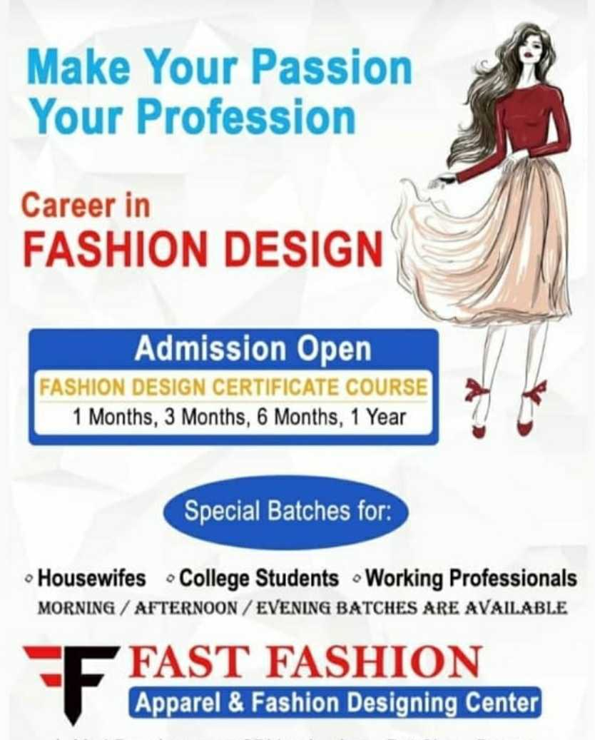 Fast Fashion Designing Institute In Madhav Club Road Ujjain 456006 Sulekha Ujjain