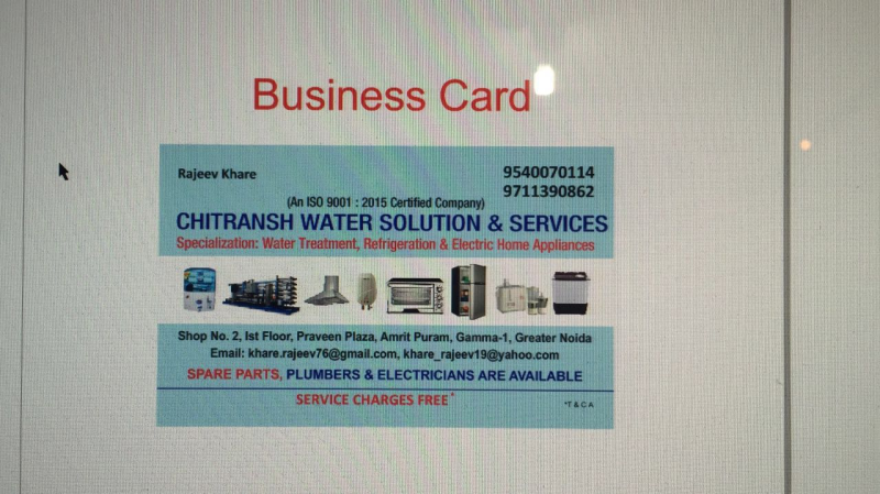 Chitransh Water Solution & Services in Beta I, Greater Noida
