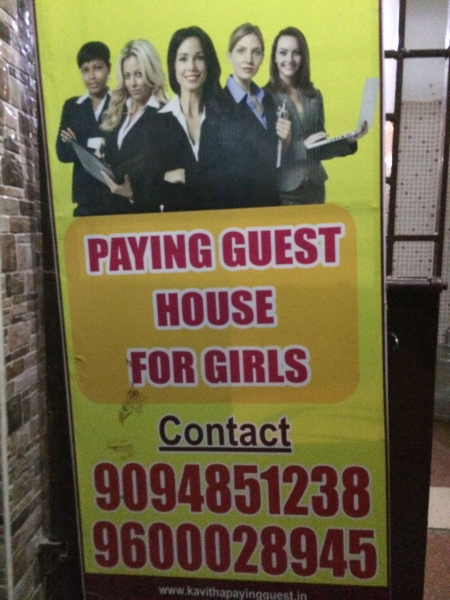 Kavitha Paying Guest House for Girls in Pallavaram, Chennai