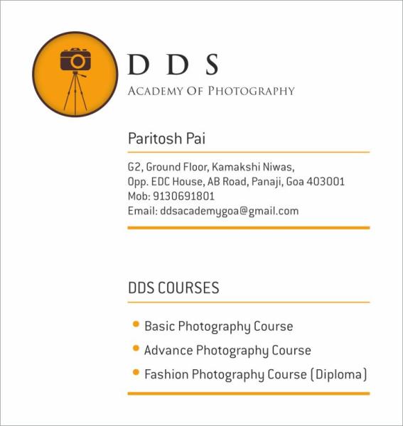 DDS Academy of Photography in Panjim, Goa-403001 | Sulekha Goa