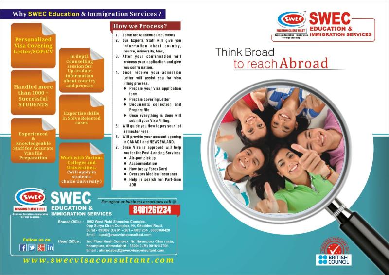 Swec Education & Immigration Services L L P in Navrangpura