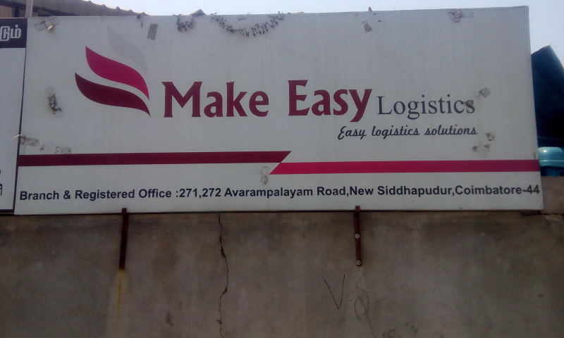 Make Easy Logistics in Sidhapudur, Coimbatore-641044 | Sulekha