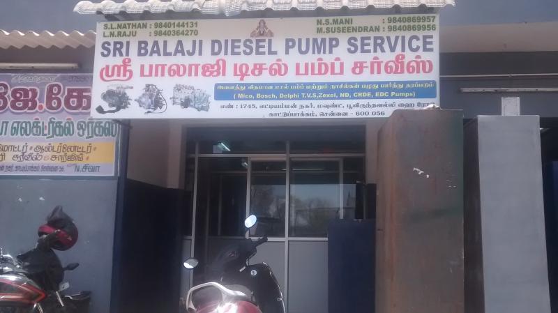 Sri Balaji Diesel Pump Service in Kattupakkam, Chennai