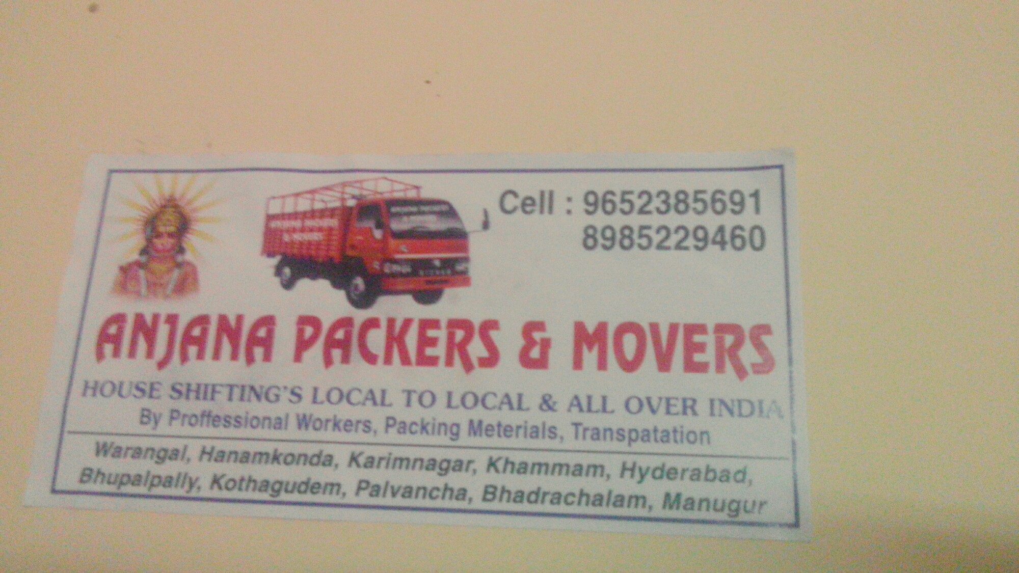 Top Packers and Movers in Metpally, Karimnagar | Sulekha