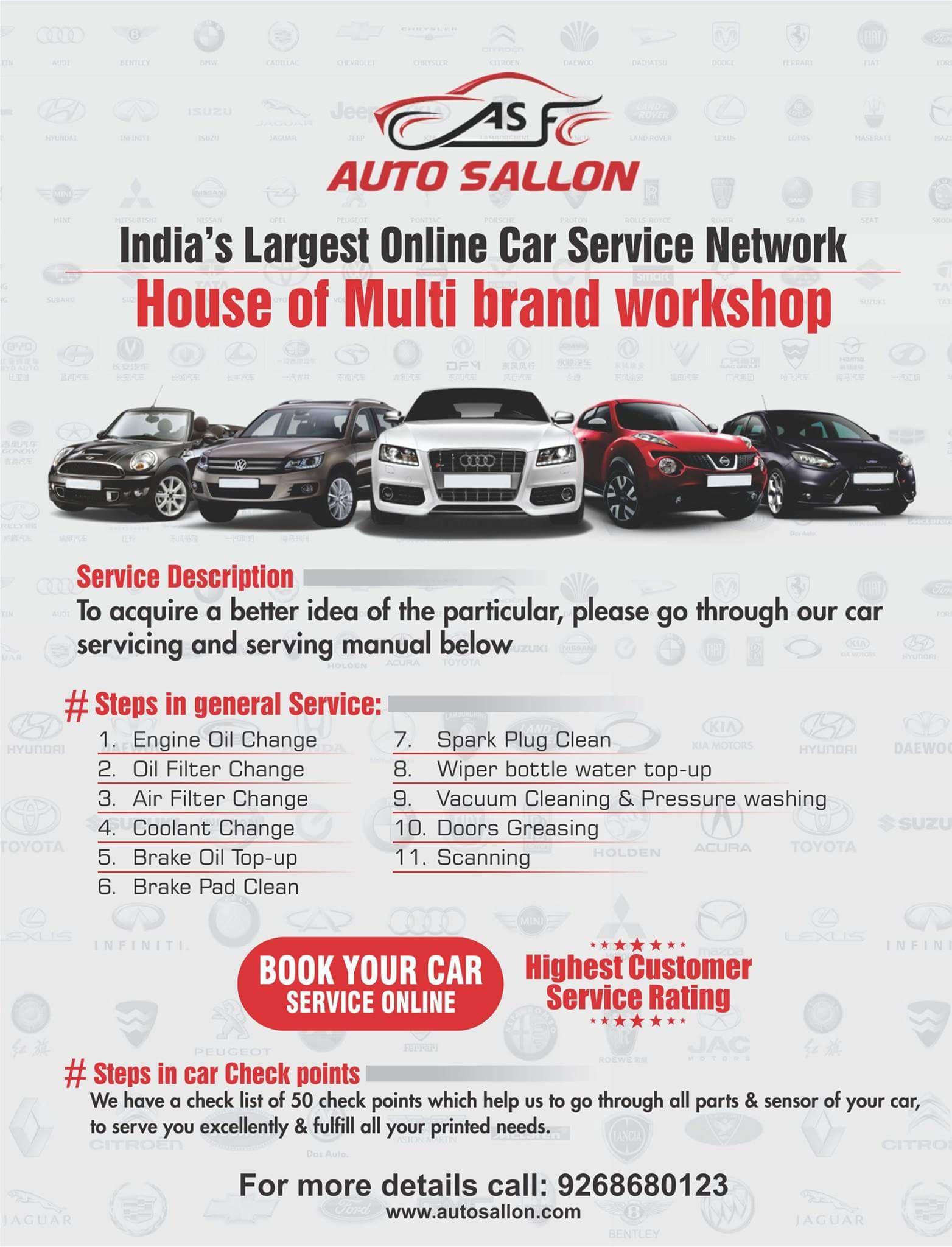 Car Service Centers in Delhi, Car Mechanic, Auto Repair
