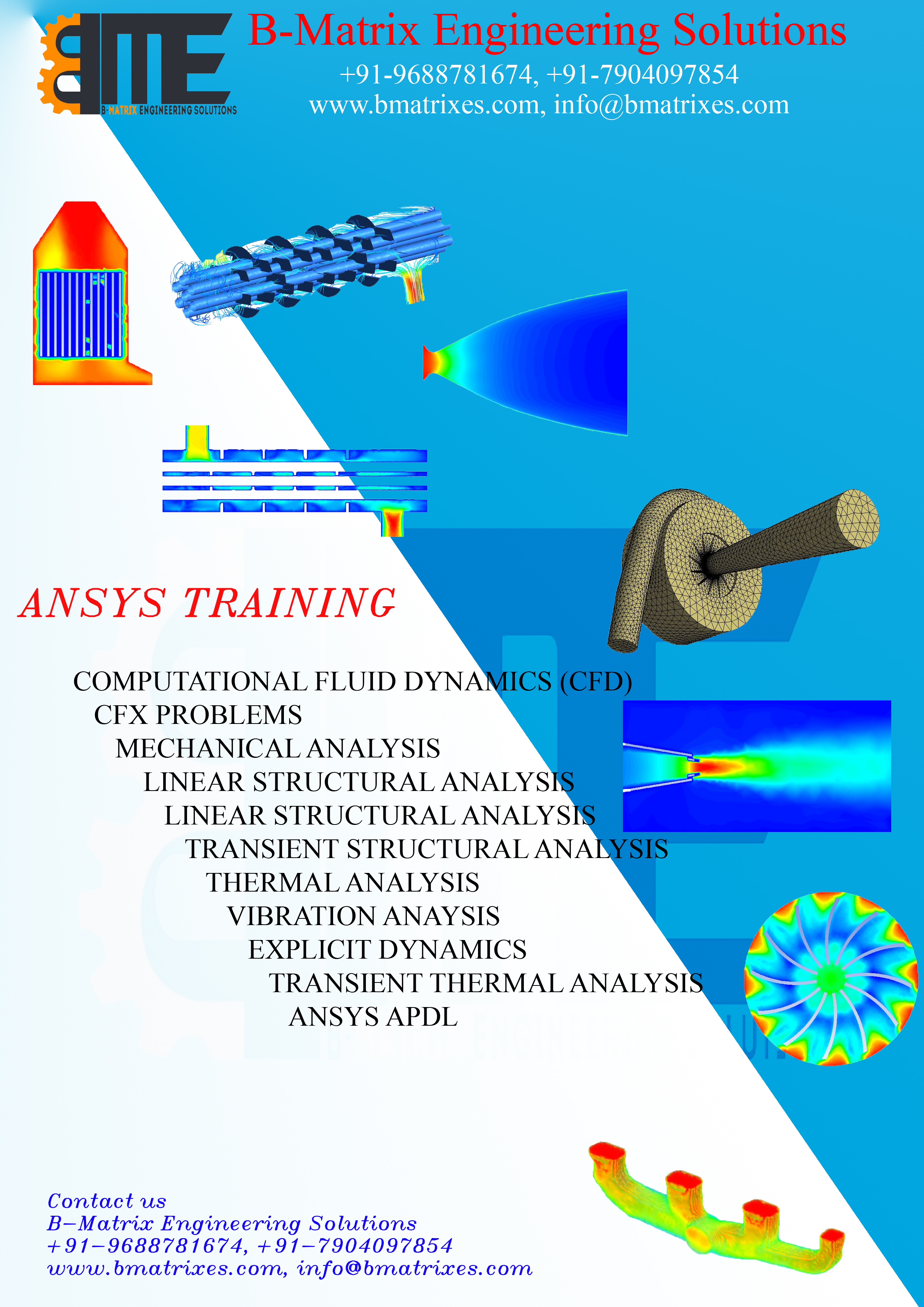 ANSYS CFD Training in Coimbatore, Classes, Courses