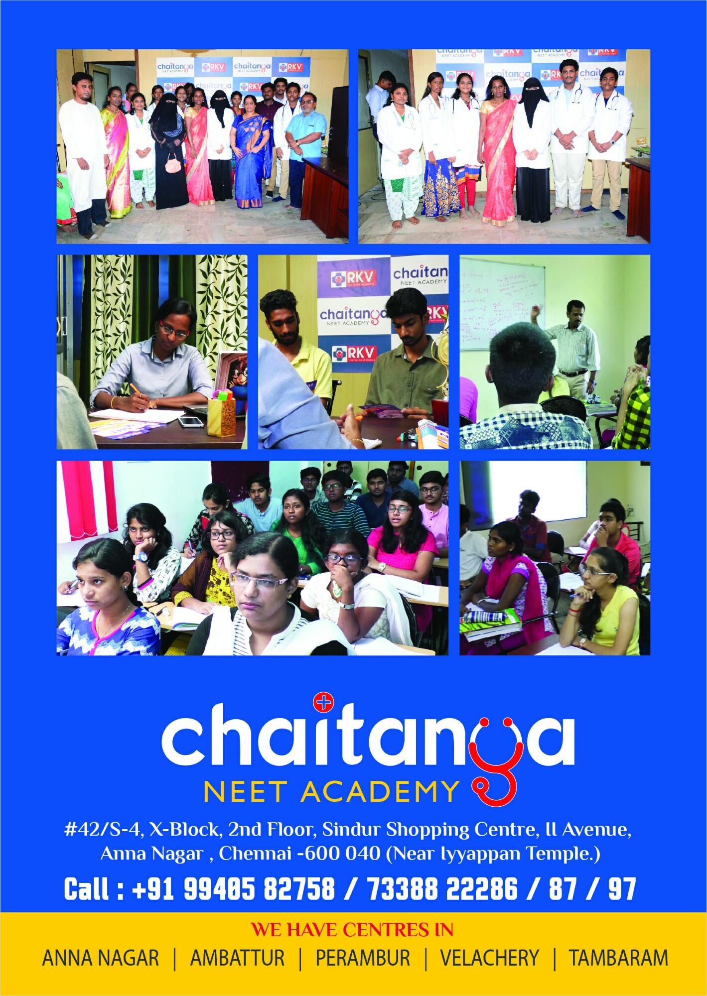 Chaitanya Neet Academy in Anna Nagar, Chennai-600040 | Sulekha