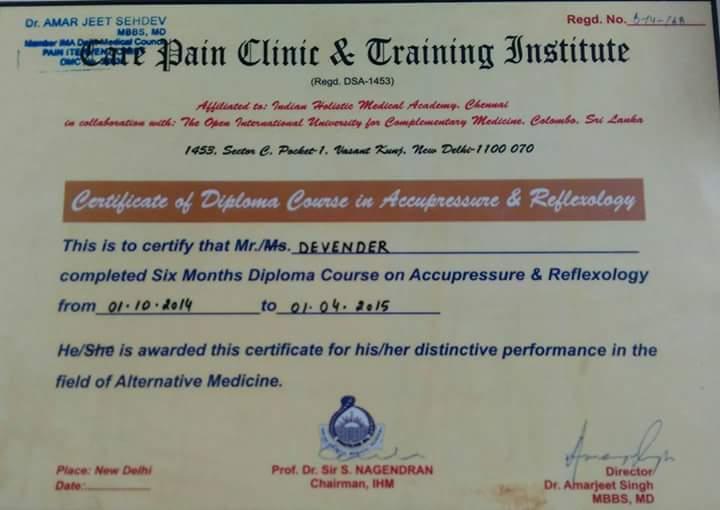 Top 10 Acupuncture & Acupressure Doctors in Kalkaji, Delhi