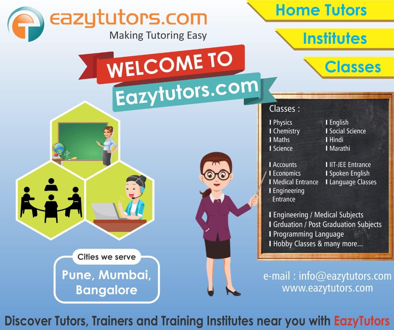 Eazytutors Com in Viman Nagar, Pune-411014 | Sulekha Pune