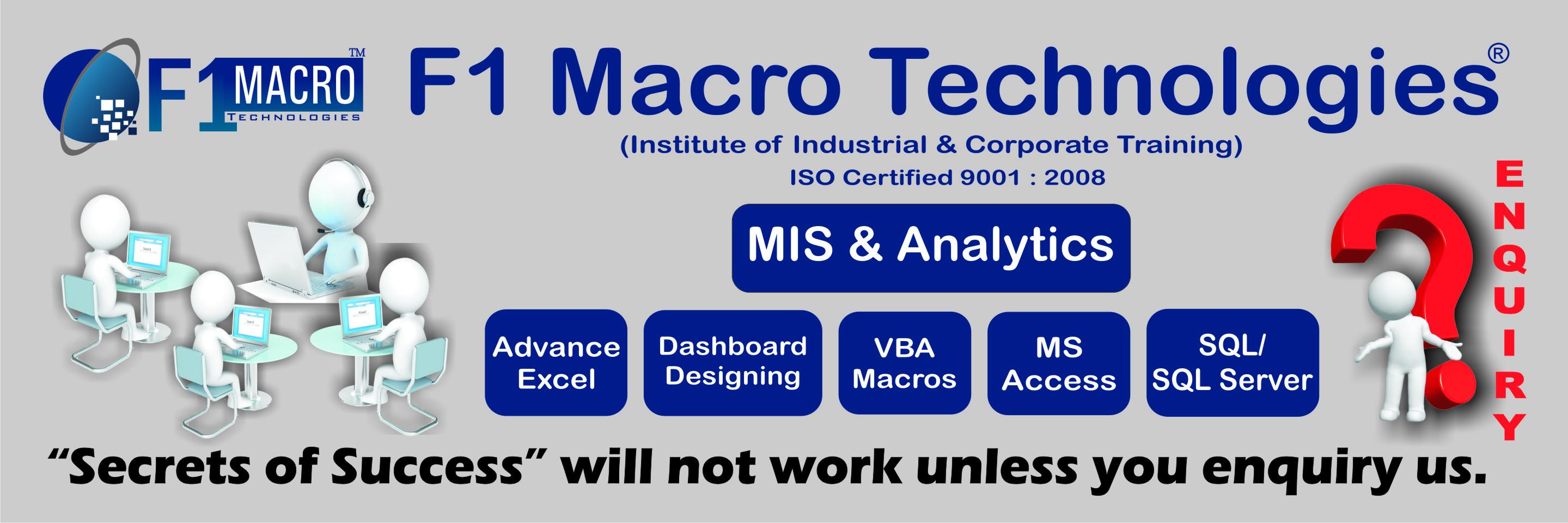 VBA Macros Training in Faridabad, Certification | Sulekha