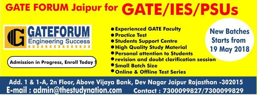 Top 10 GATE Coaching Classes in Jaipur, Training Institutes