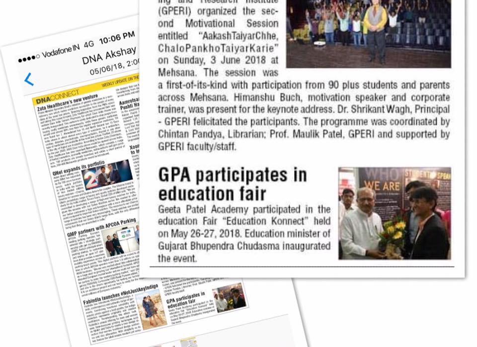 Geeta Patels Academy in Vastrapur, Ahmedabad-380052