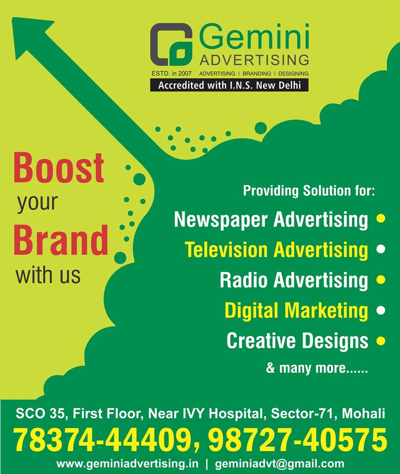 Top 10 Advertising Agencies in Chandigarh, Ad Companies