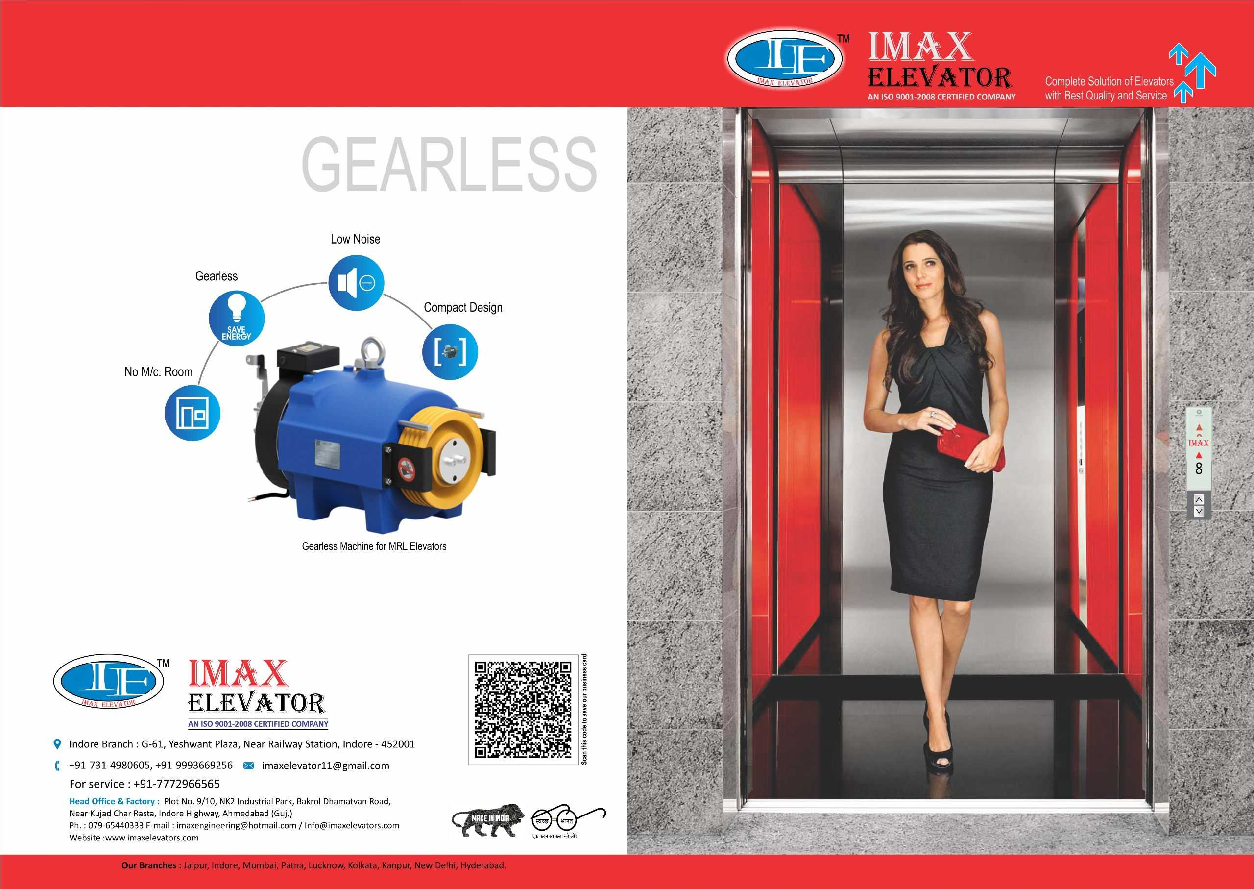Imax Elevator in Railway Station Road, Indore-452001