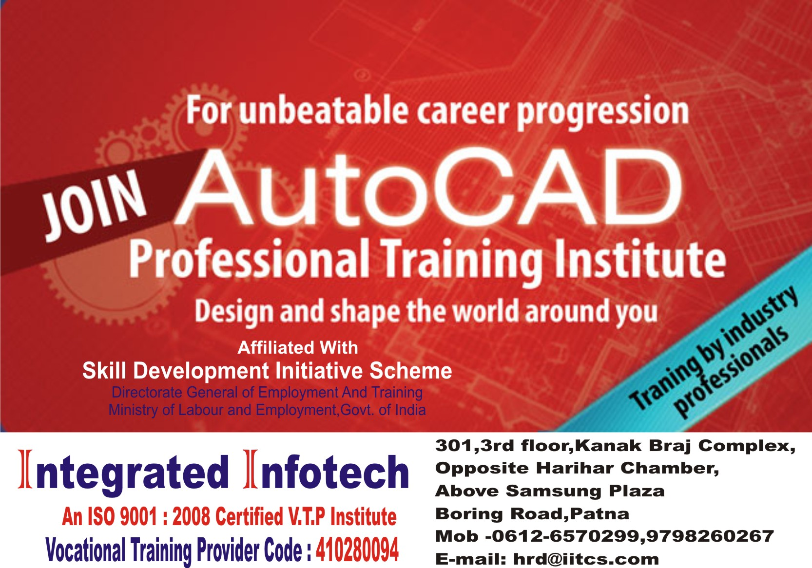 AutoCAD Course in Patna, AutoCAD Training in Patna | Sulekha