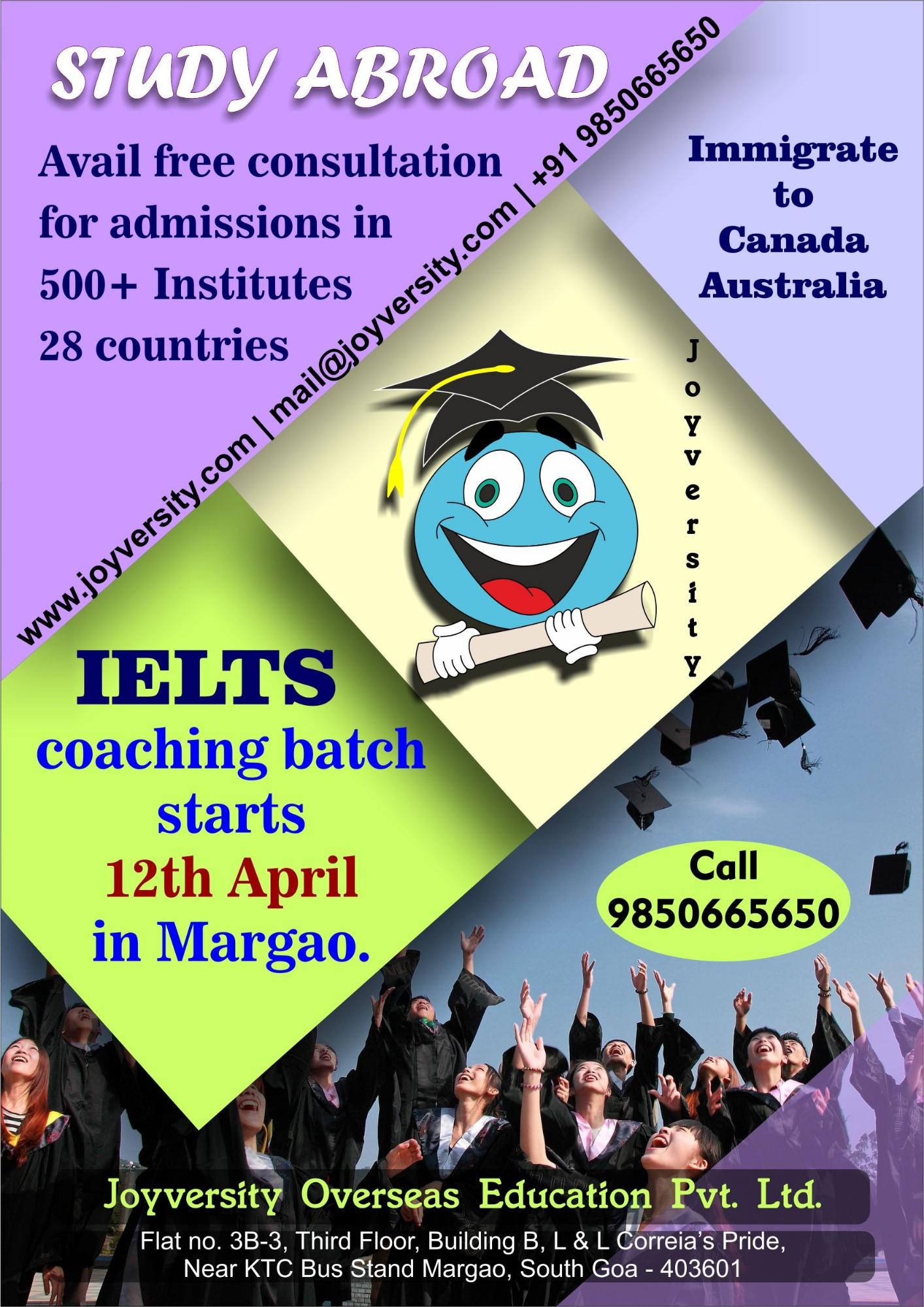 Joyversity Overseas Education Pvt  Ltd  in Margao, Goa