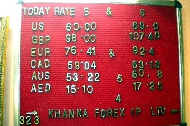 Top 100 Currency Exchange in Delhi, Money transfer in Delhi