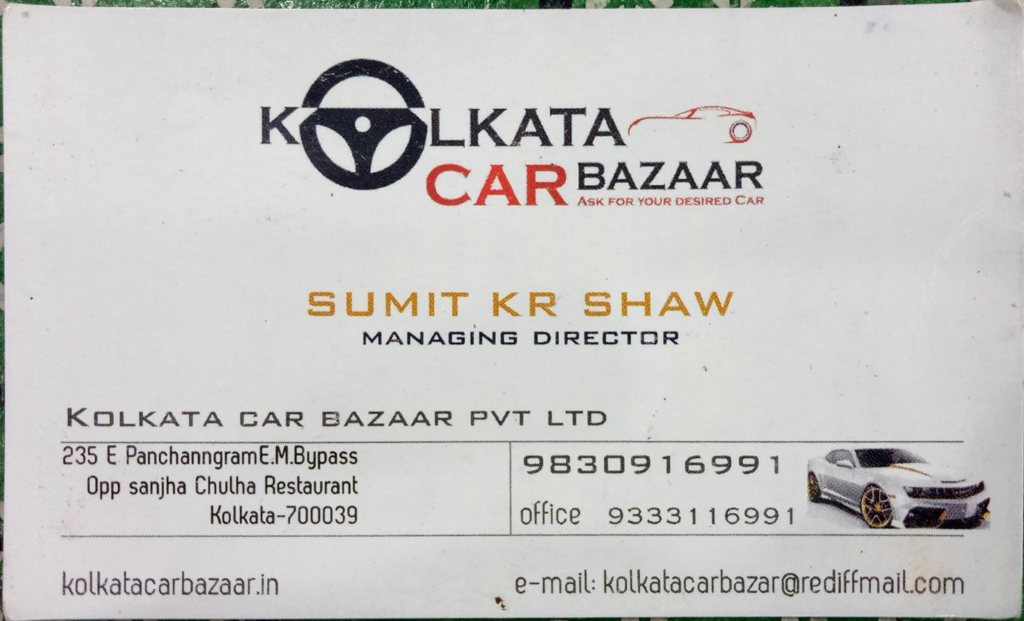 Kolkata Car Bazaar in Tiljala, Kolkata-700039 | Sulekha Kolkata