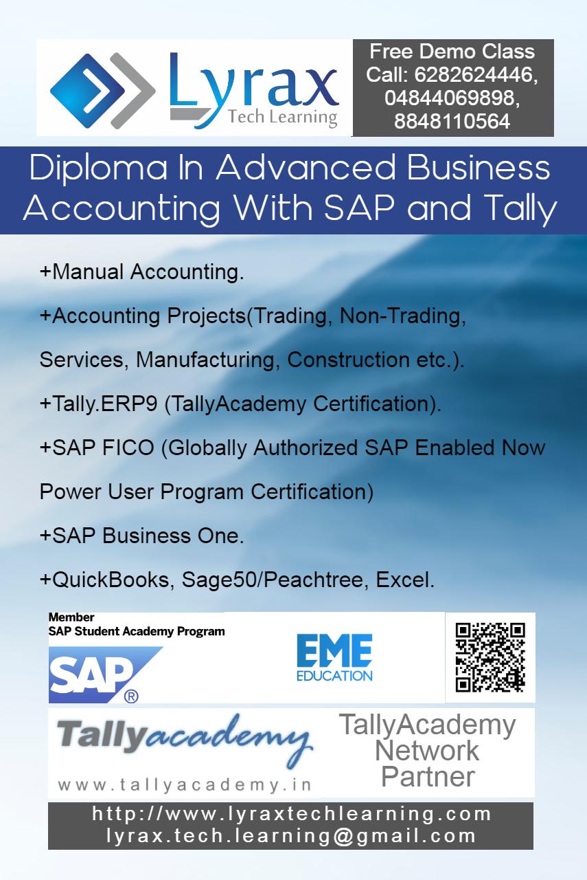 SAP ERP Training in Kottayam, Classes, Courses, Institutes