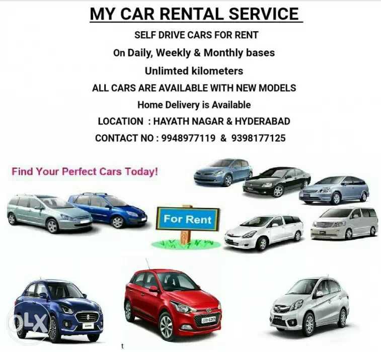 My Car Rental Service in Hayath Nagar, Hyderabad-501505