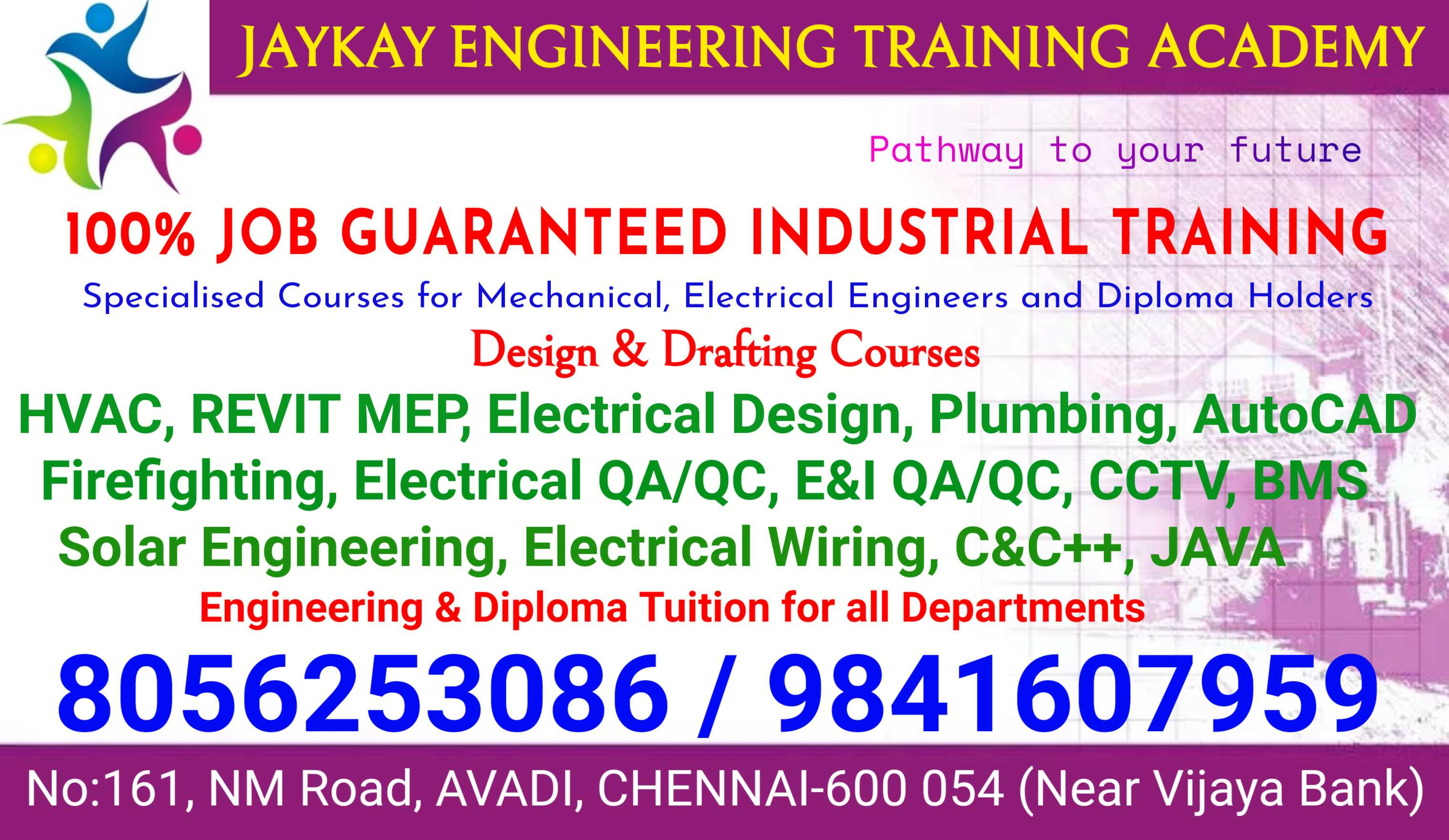 Jaykay Engineering Training Academy In Avadi Chennai 600054 Sulekha Chennai