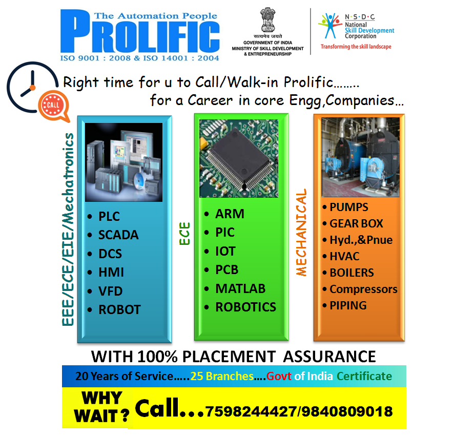 Embedded Systems Training in Coimbatore, Classes, Courses