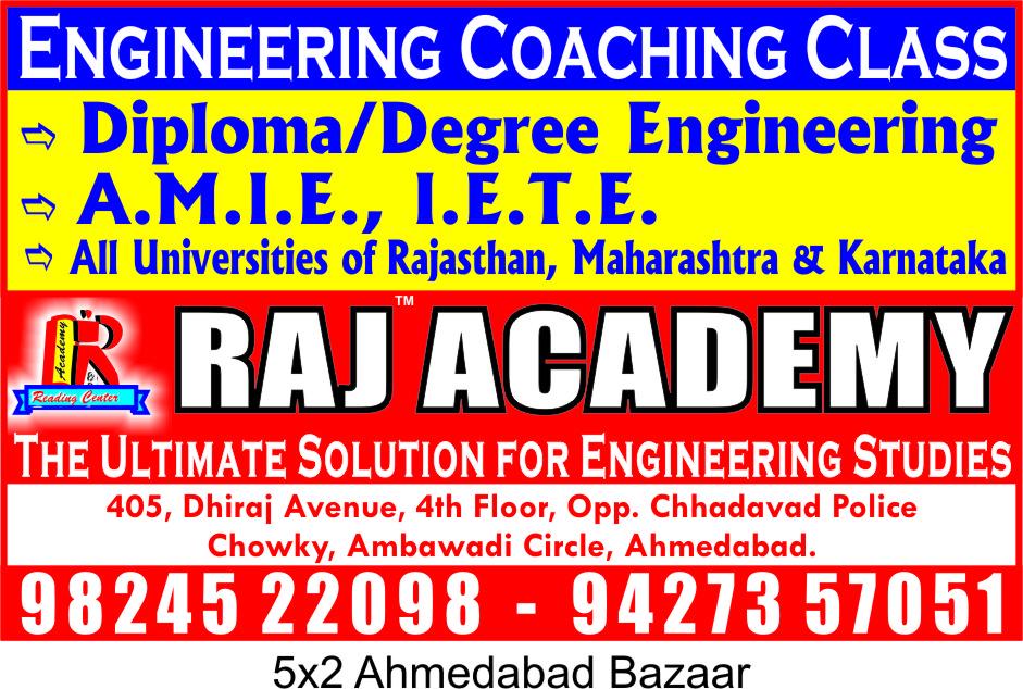 Raj Academy in Ambawadi, Ahmedabad-380006 | Sulekha Ahmedabad