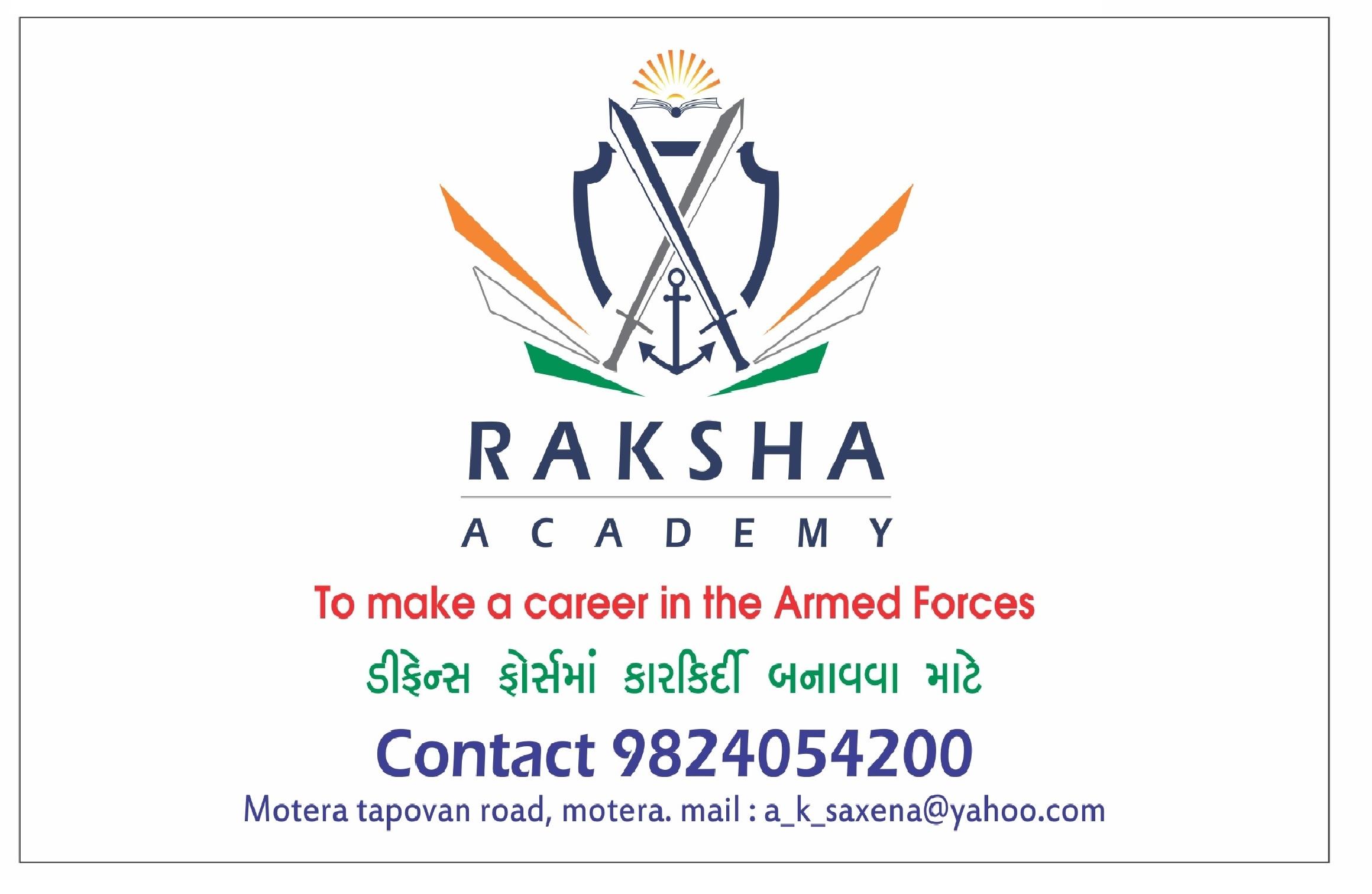 RAKSHAACADEMY in Motera, Ahmedabad-380005 | Sulekha Ahmedabad