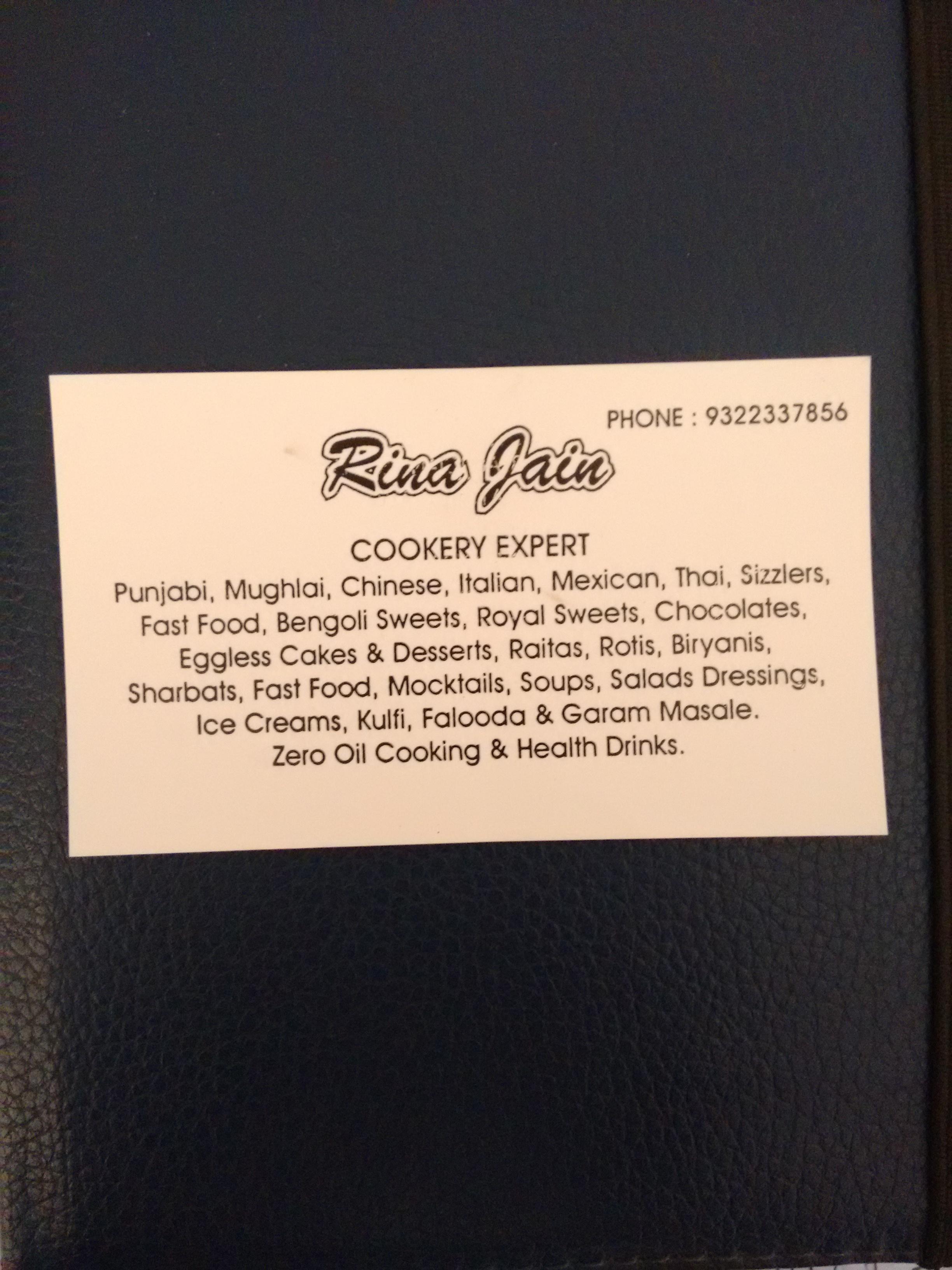 Rina Cookery Classes in Santacruz East, Mumbai-400055