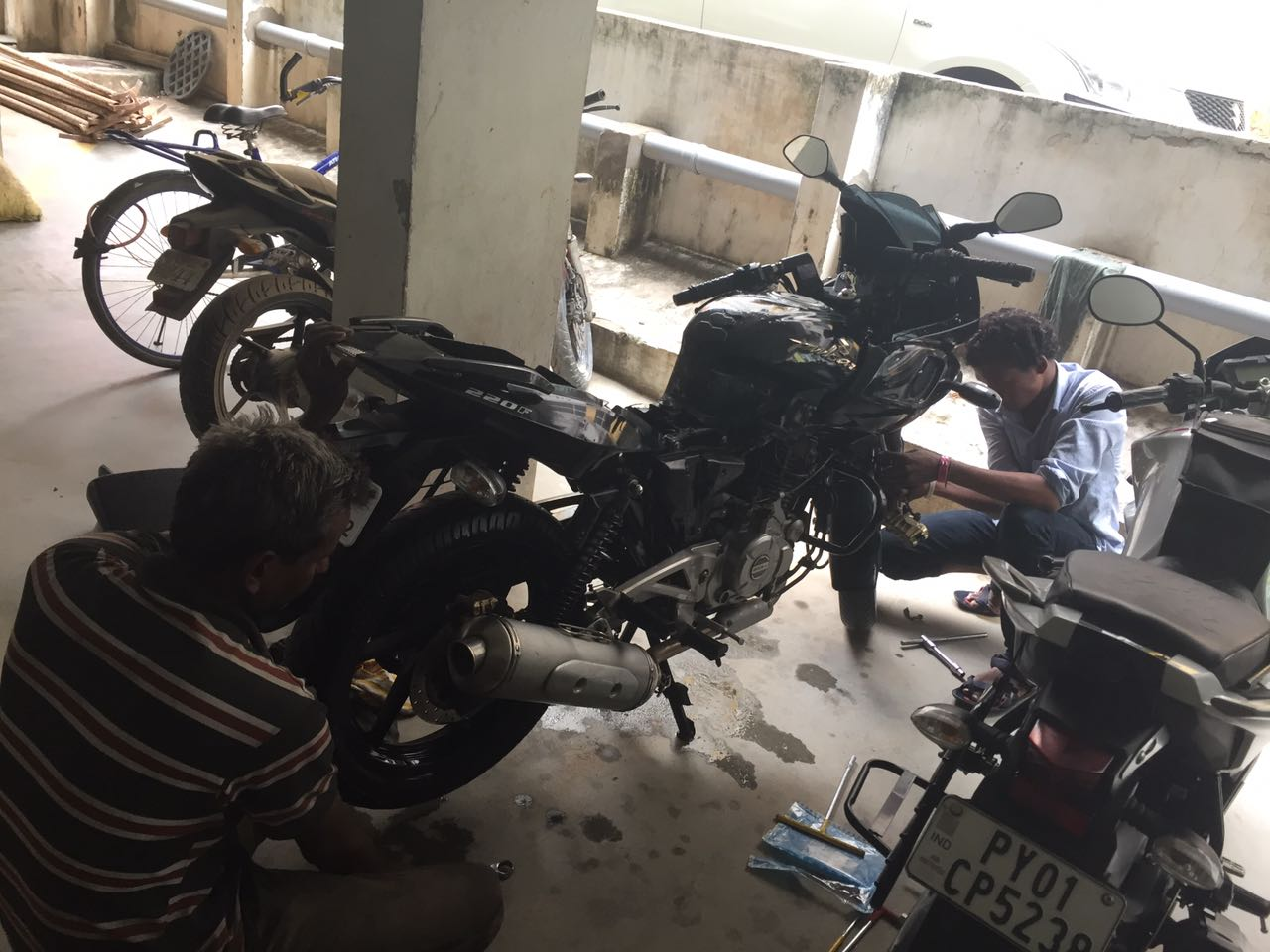 Top 10 TVS Bike Service Centers in Hyderabad, Two Wheeler