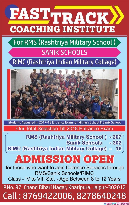 Sainik School Entrance Coaching Centres in Jhansi, Classes | Sulekha